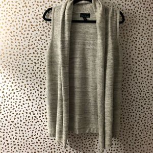 Cynthia Rowley cotton gray cardigan sz M